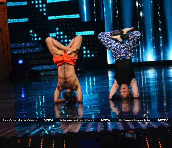 Nach Baliye 8: Baba Ramdev Gives Contestants And Judges Yoga Lessons
