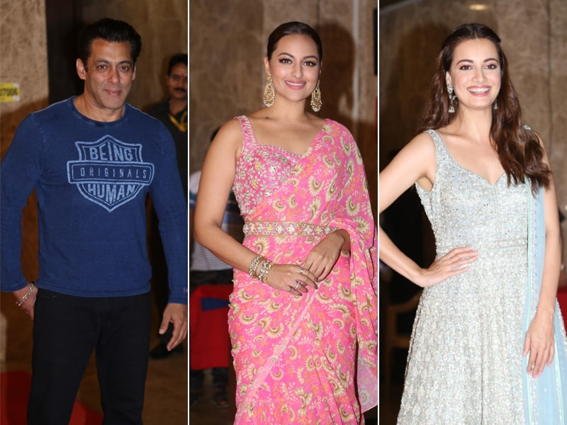 Salman Khan, Sonakshi Sinha, Dia Mirza Add Glitz And Glamour To Taurani's Diwali Party