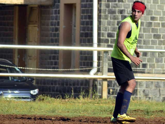 One Man Football Team: Ranbir Kapoor