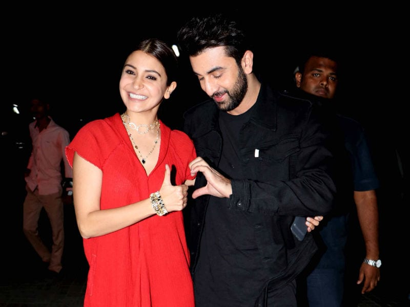 Ranbir - Anushka Kickstart The Festive Season With Ae Dil Screening