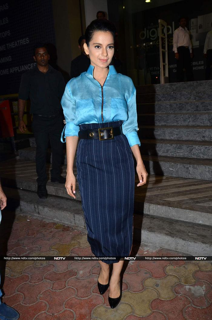 Queens\' day out: Kangana, Raveena, Sunny