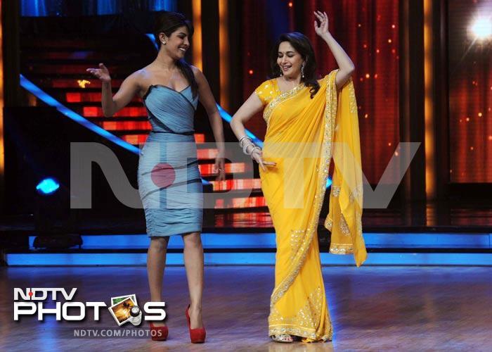 Ranbir vs Priyanka: Madhuri\'s the prize