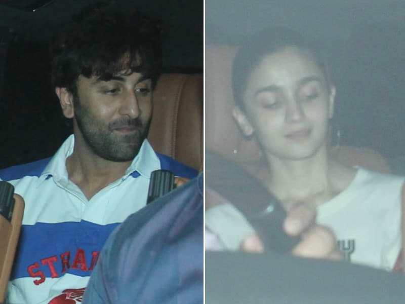 Ranbir And Alia's Cute Date With Roohi And Yash