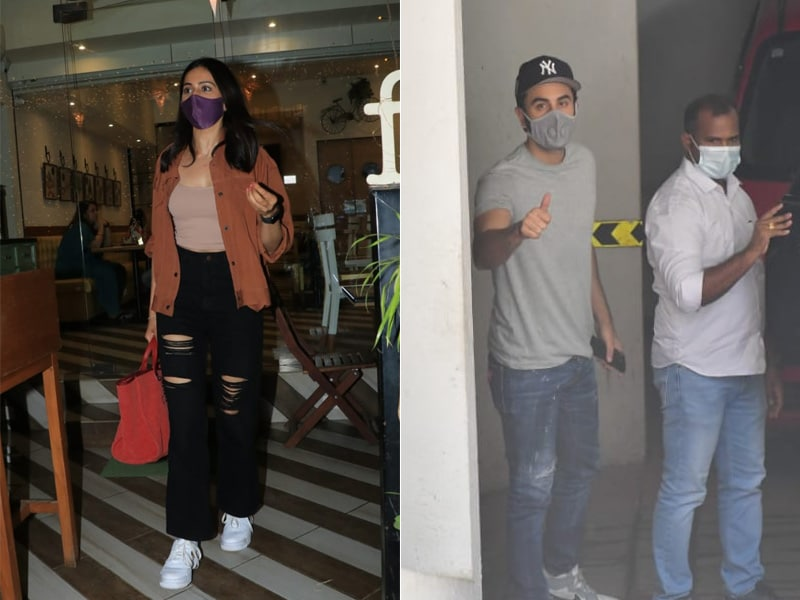 Photo : स्टाइलिश अंदाज में की रणबीर और रकुल प्रीत ने इस सप्ताह की शुरुआत