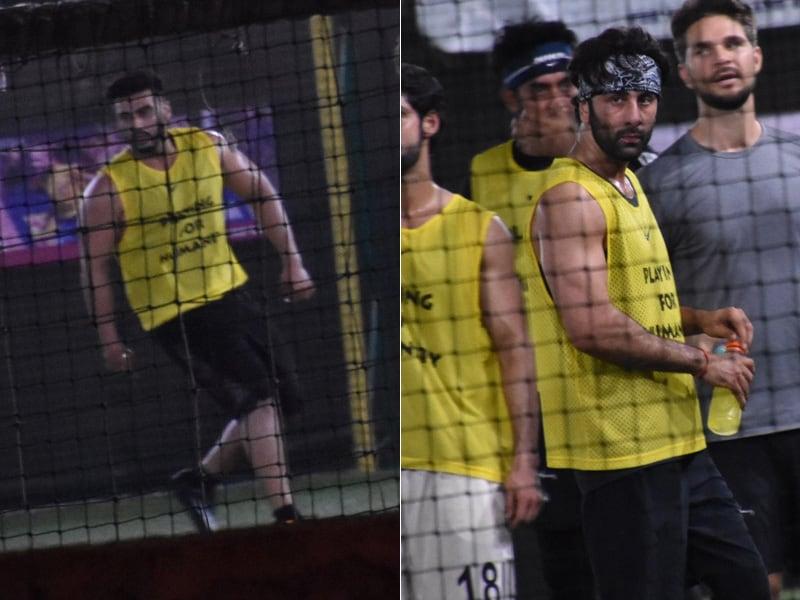 Ranbir Kapoor, Arjun Kapoor Enjoy A Friendly Game Of Football