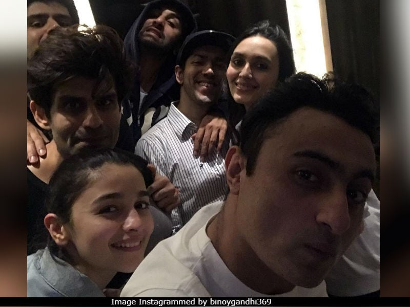 Obviously Alia Was At Ranbir's Birthday Party