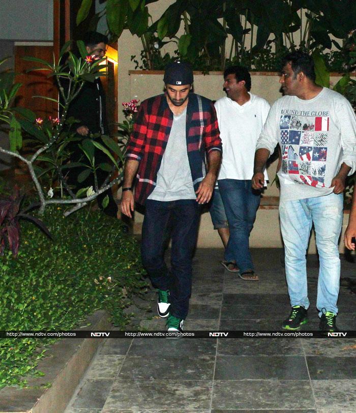 Bollywood\'s Super Pals:  Ranbir, Karan, Siddharth
