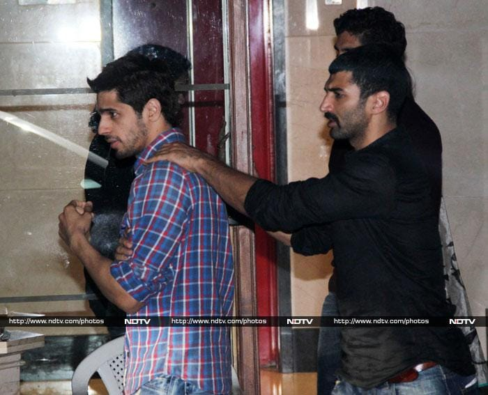 Ranbir parties with Katrina and Kareena