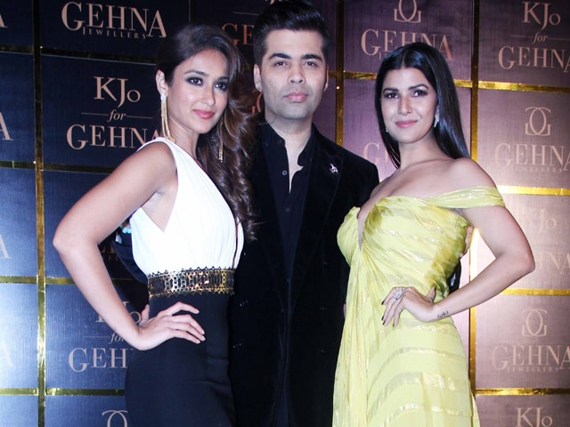 Bonding Over Style: Ileana D'Cruz, Nimrat Kaur, Karan Johar