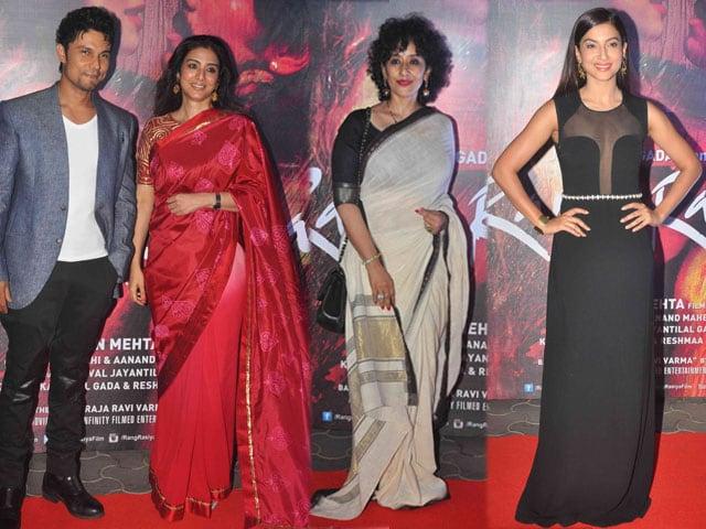 Tabu, Manisha, Gauahar Watch Randeep Hooda's Rang Rasiya