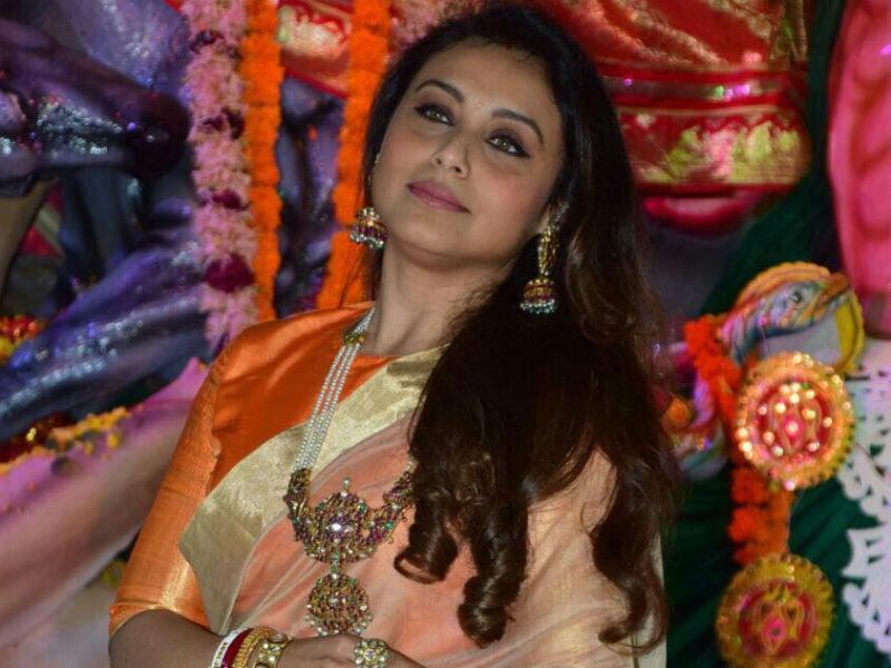Rani Mukerji, Alia Bhatt, Ranbir Kapoor Celebrate Durga Puja