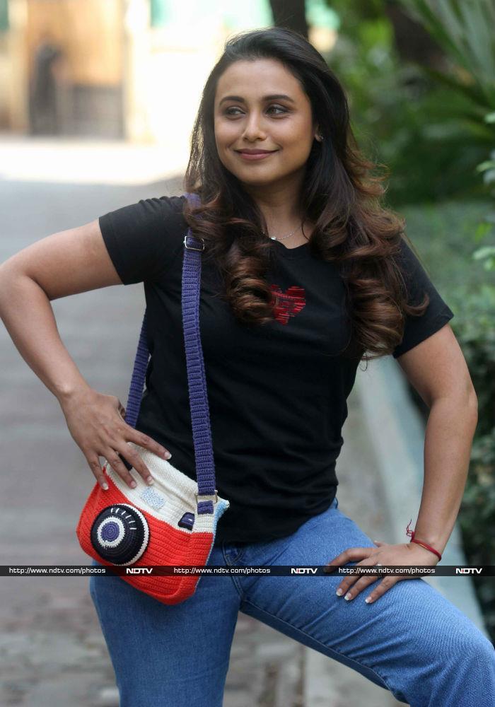 Rani Mukerji Makes A No-Hichki Fashion Statement