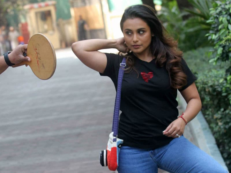 Rani Mukerji Makes A No-Hichki Fashion Statement