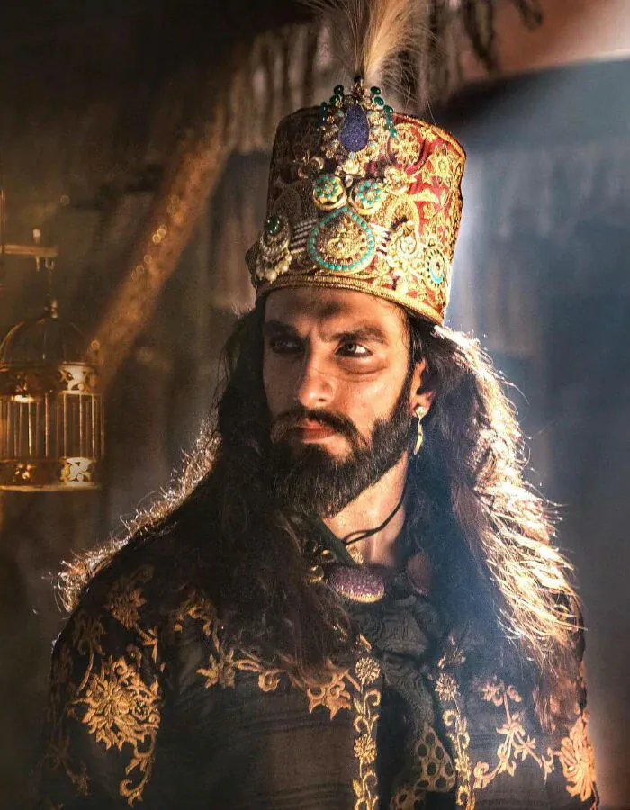 In 2018, Ranveer Singh appeared in his first negative role in Sanjay Leela Bhansali\'s Padmaavat. Ranveer featured in the role of historic ruler Alauddin Khilji while Deepika starred as Rani Padmavati of Chittor and Shahid Kapoor played her onscreen husband Maharawal Ratan Singh.