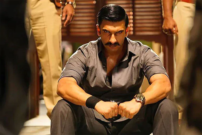 Ranveer Singh signed off 2018 on a grand note with Rohit Shetty\'s Simmba. The film was a spin-off of Rohit Shetty\'s successful Singham series and it collected over Rs 200 crore at the box office. This image was instagrammed by Rohit Shetty.