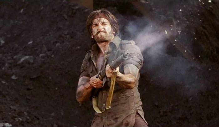 In 2014, Ranveer Singh featured in Gunday with Arjun Kapoor and Priyanka Chopra.