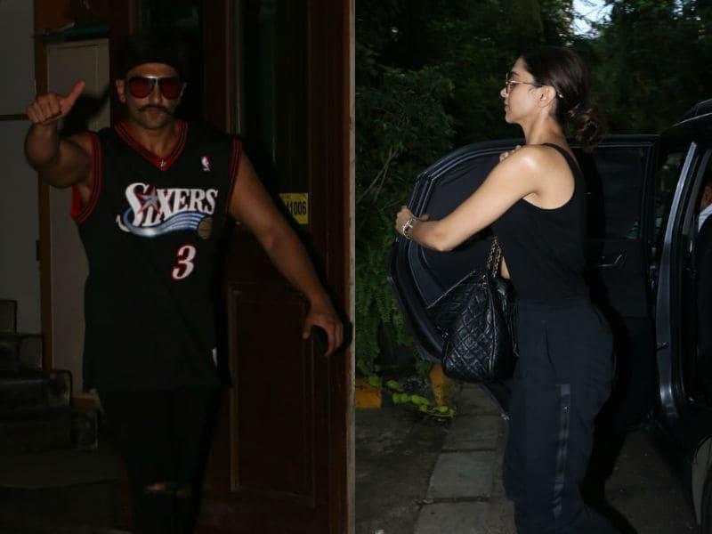 Deepika Padukone And Ranveer Singh's Mumbai Diary