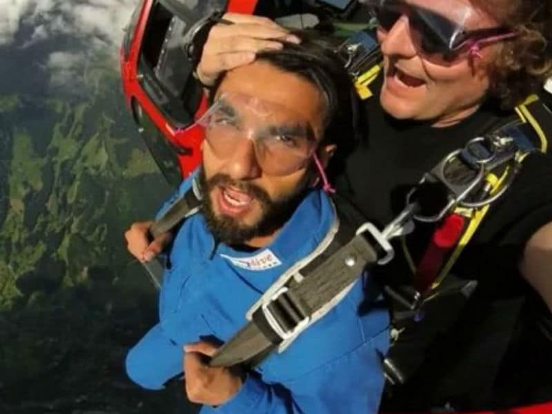 Photo : Ranveer Singh Is On A Swiss Holiday To Die For