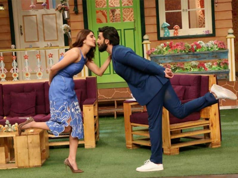 Ranveer Singh, Vaani Kapoor's Befikre Act On  The Kapil Sharma Show
