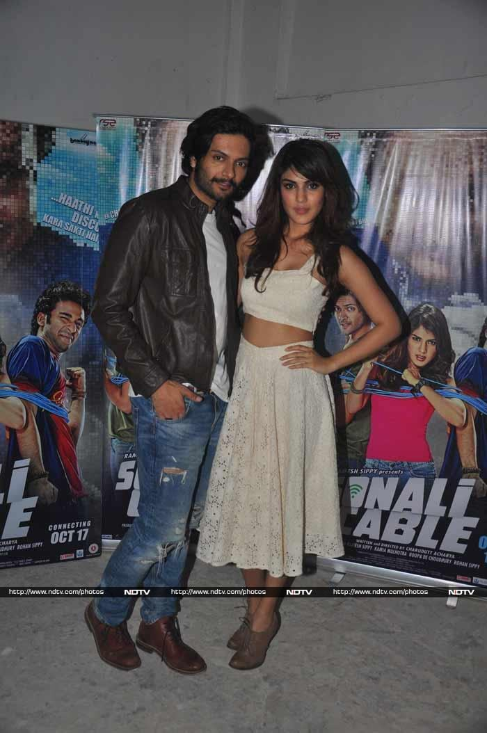 Promotion Commotion: Rhea, Randeep, Triptha