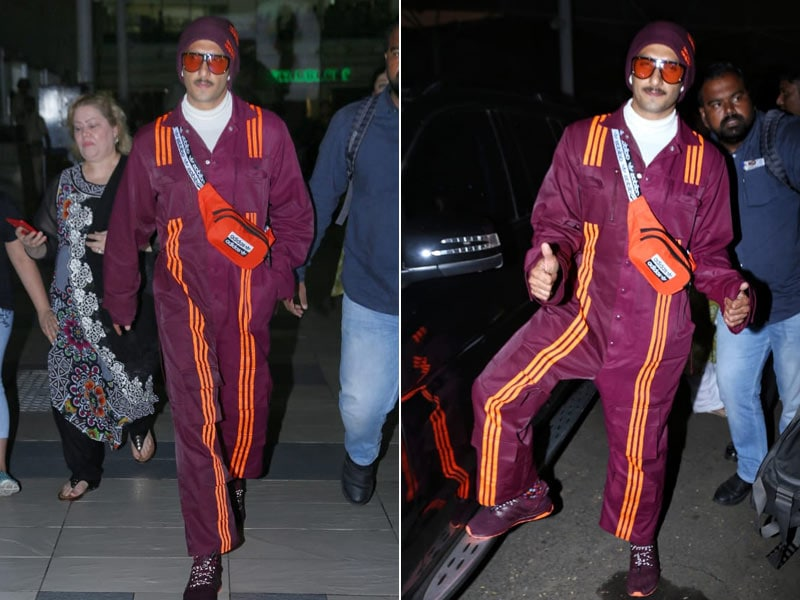 Ranveer Singh's Airport Style Is Hard To Match