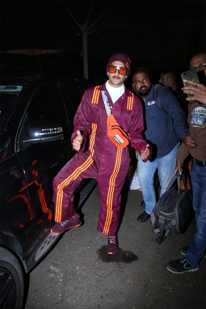 Ranveer Singh\'s Airport Style Is Hard To Match