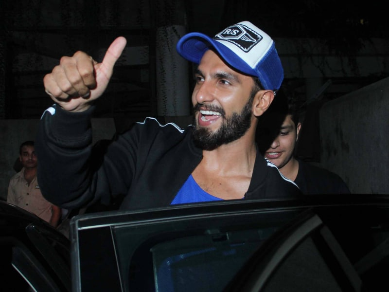 Photo : The Camera Loves Ranveer And The Feeling Is Mutual