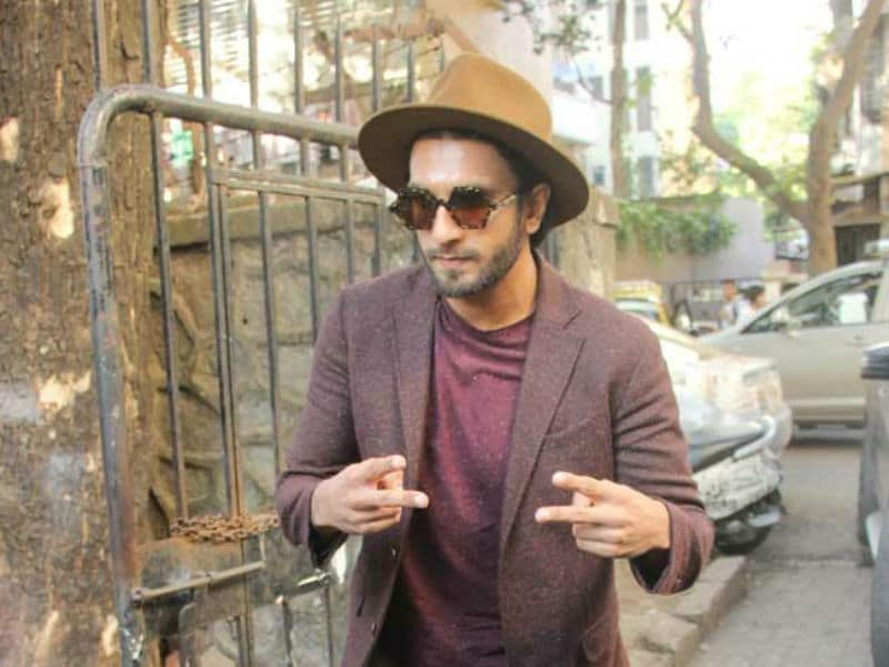Ranveer Singh All Set For Gully Boy