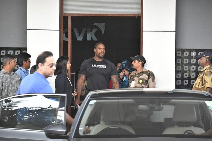 Rapper Tyga Lands In Mumbai For Concert
