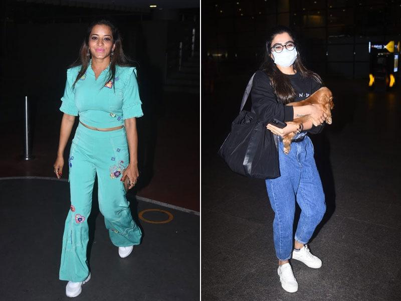 Photo : मुंबई एयरपोर्ट पर स्पॉट किए गए ये सितारें...