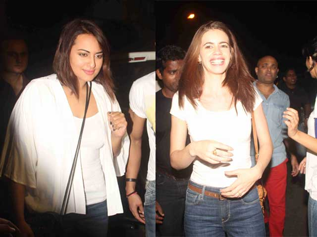 Party All Night: Sonakshi, Kalki