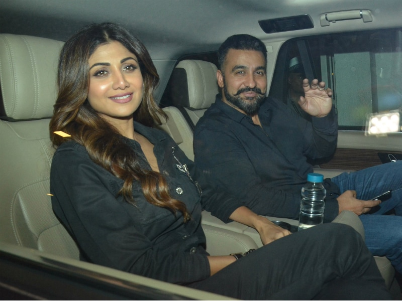 It Was A Party Night For Shilpa, Raveena, Shahid, Mira