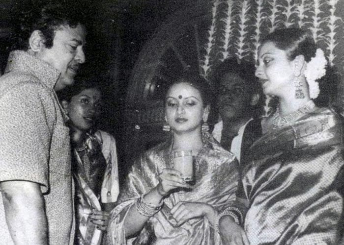 Rekha Is Actor Gemini Ganesan And Actress Pushpavalli S: Happy Birthday, Rekha: A Timeless Beauty @63