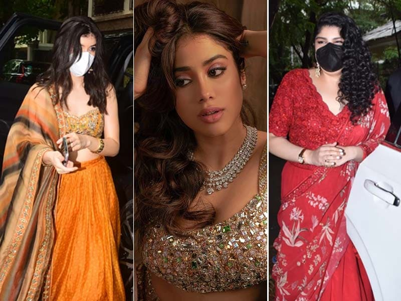 Photo : Janhvi Kapoor, Why So Stunning? Inside Rhea Kapoor's Wedding Guest-List