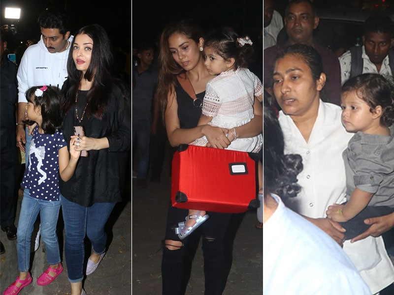 Inside Riteish Deshmukh's Son Riaan's Birthday Party With Aishwarya, Abhishek, Aaradhya, Mira, Misha, Zain And Others