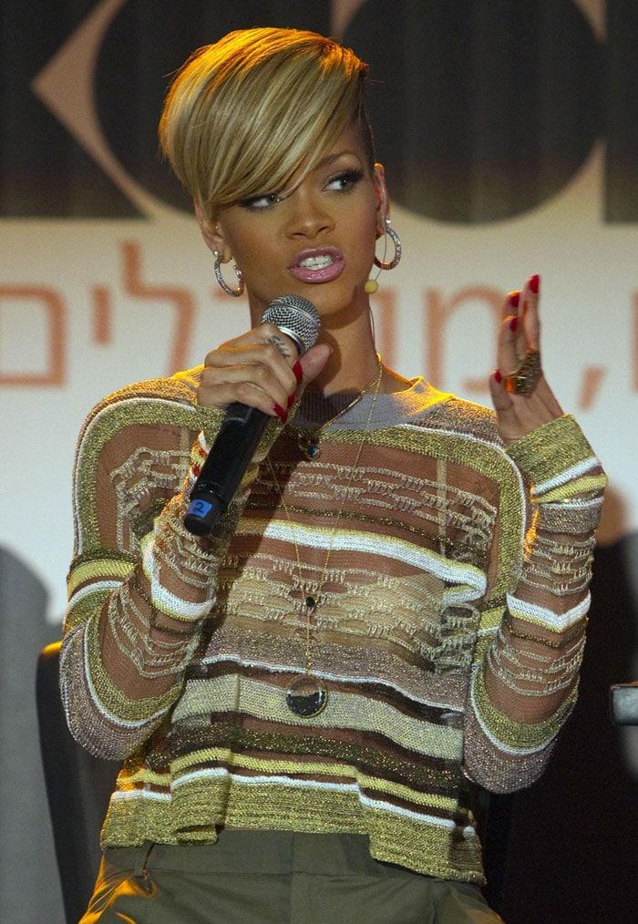 Rihanna\'s \'bold\' concert in Israel