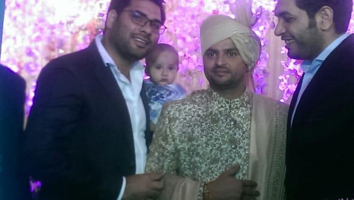 Congratulations, Mr & Mrs Suresh Raina