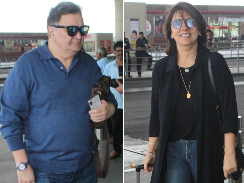 Photo : Such Cute Smiles, Rishi And Neetu Kapoor