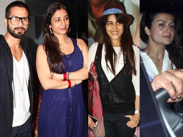 So filmy: Shahid, Tabu, Genelia, Amrita