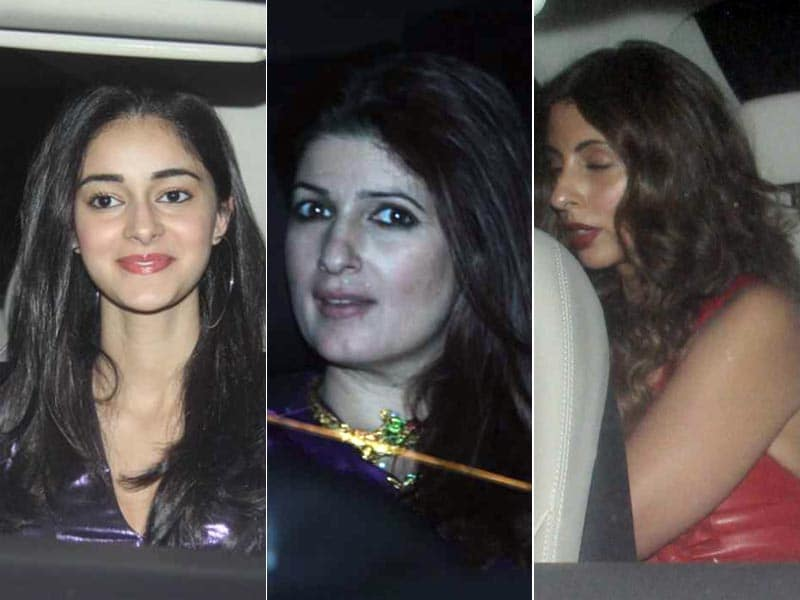 Inside Ritesh Sidhwani's Pre-Christmas Party With Ananya, Twinkle Khanna And Shweta Bachchan Nanda