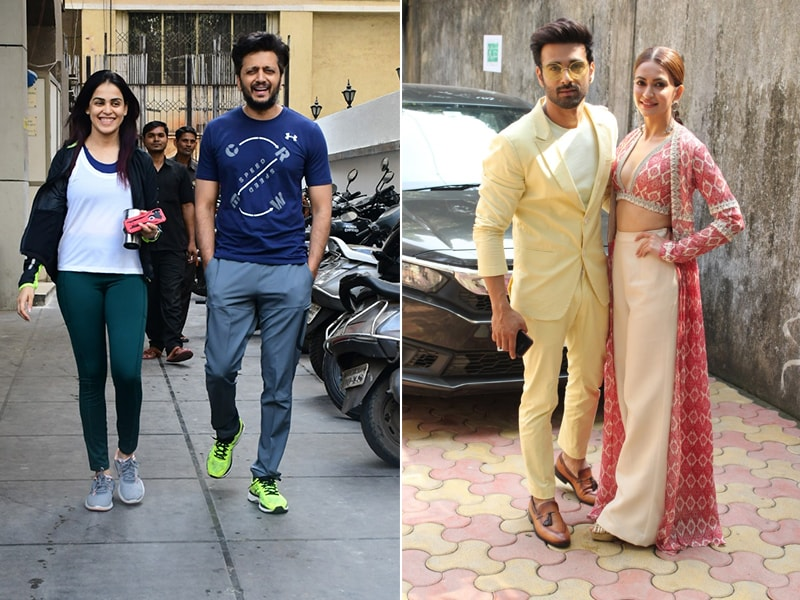 What's Keeping Genelia-Riteish and Kriti-Pulkit Busy