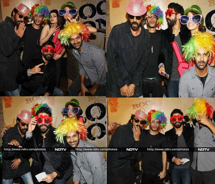Go Crazy With Farhan, Shraddha and Team Rock On 2