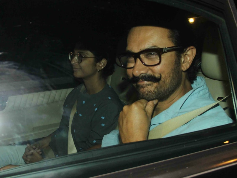 Photo : Aamir Khan, Kiran Rao: Karan Johar's Twins Get New Visitors