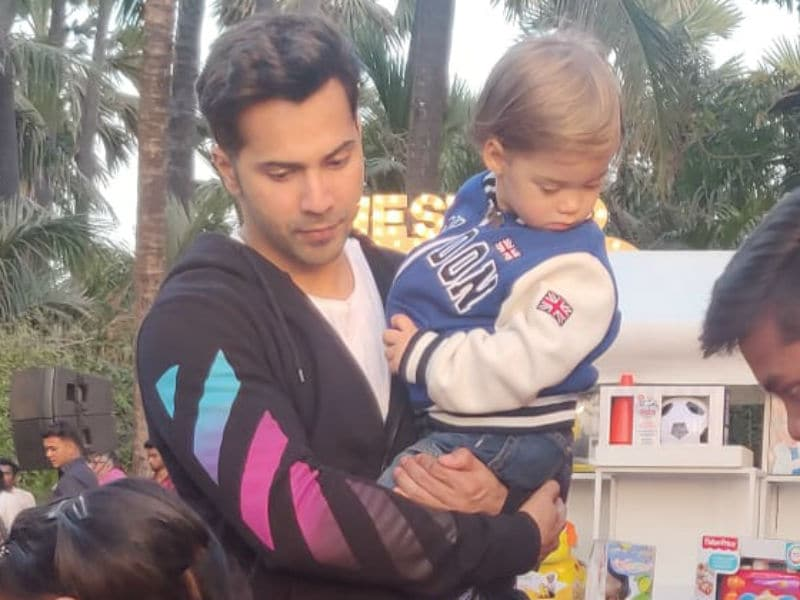 Roohi And Yash Celebrate Second Birthday With Varun Dhawan