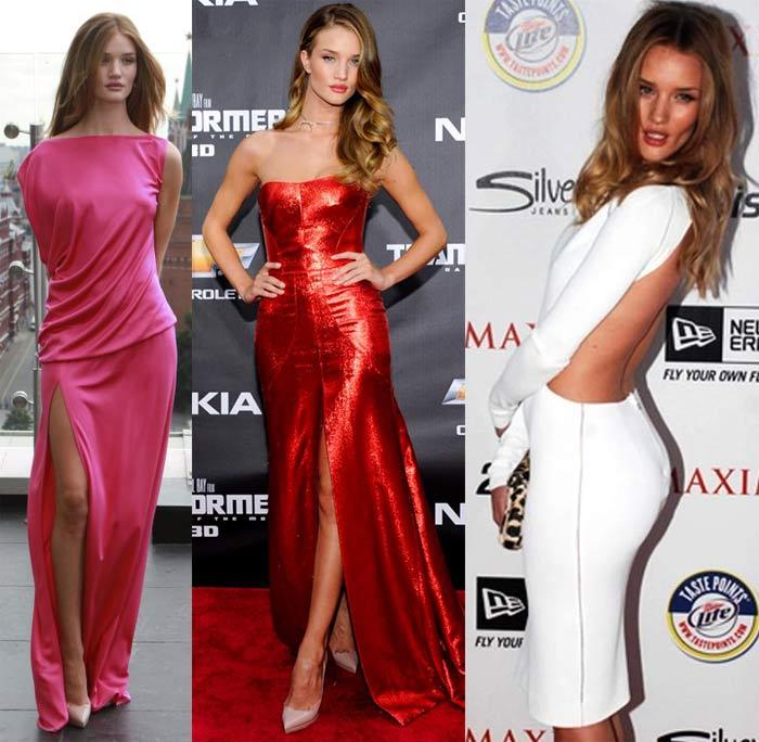 Glamour roll: Rosie Huntington-Whiteley