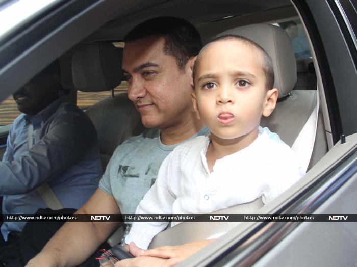 These Pics of Aamir Khan and Azad Will Brighten Up Your Saturday