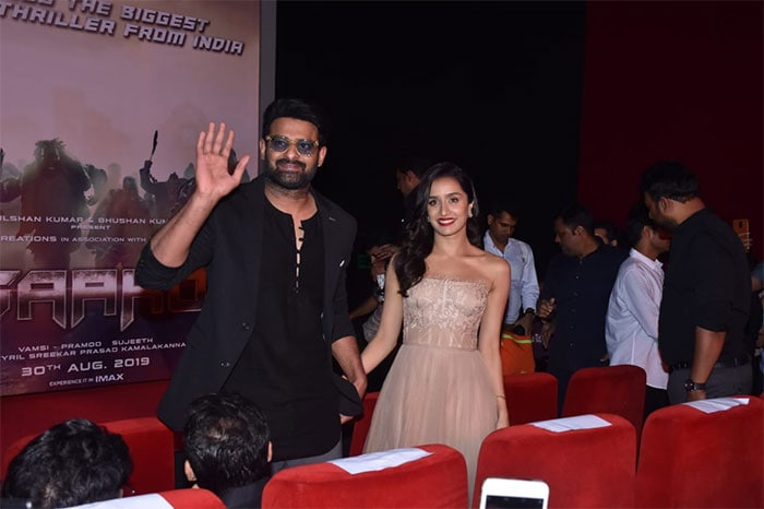 Prabhas And Shraddha\'s Saaho Special Date