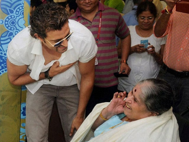 In pics: Sachin's mother, children at Wankhede today