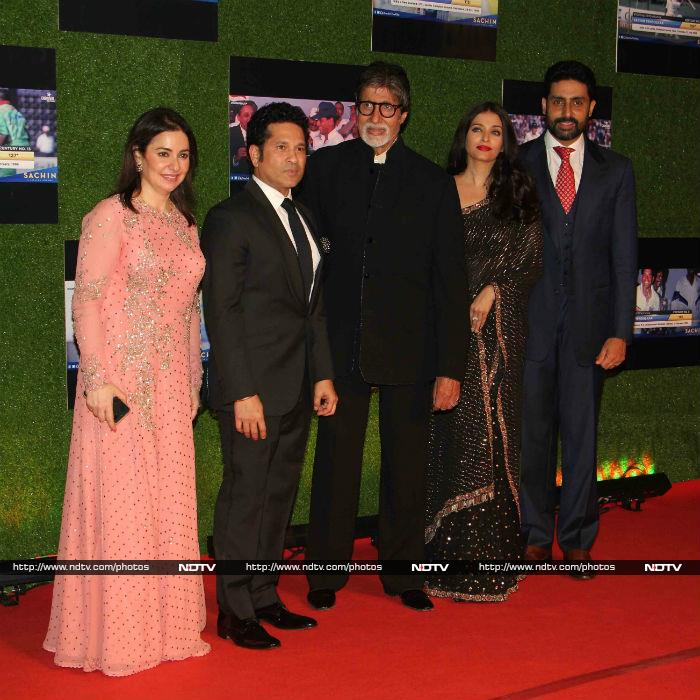 A Billion Dreams Screening For Sachin\'s Film