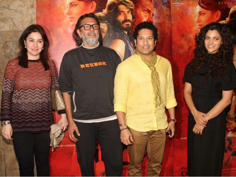Sachin Tendulkar's Mirzya Date With Saiyami Kher